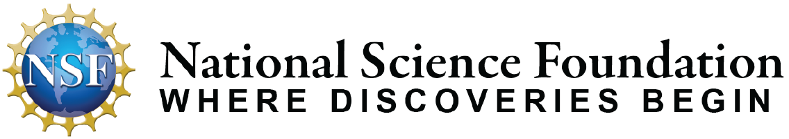 Logo - National Science Foundation | WHERE DISCOVERIES BEGIN